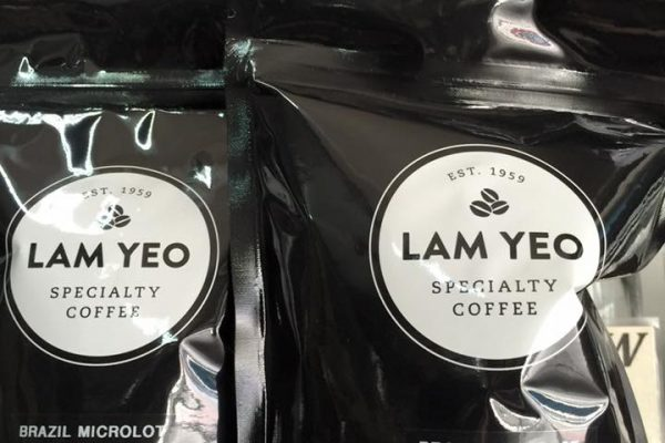 Lam Yeo Specially sourced beans from Brazil.